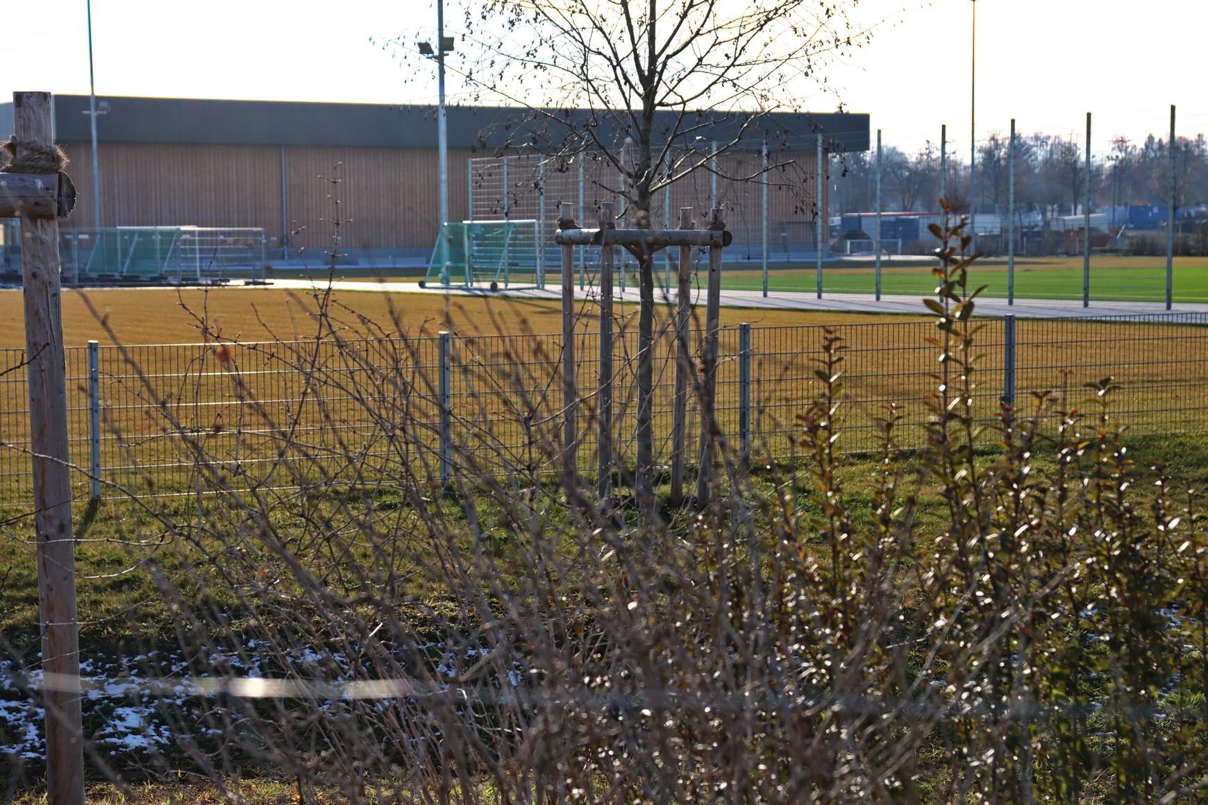 Gerd-Vogt-Sportpark; Bauphase 2019-2021