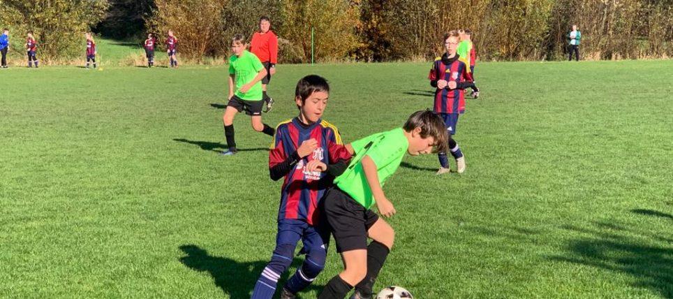 FC Erding D1 nach Aufholjagd Herbstmeister