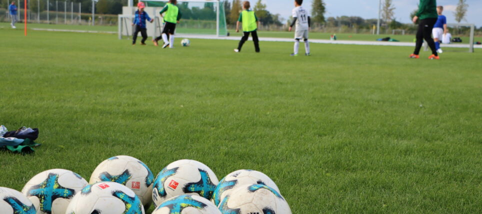 Trainingsauftakt am Gerd-Vogt-Sportpark