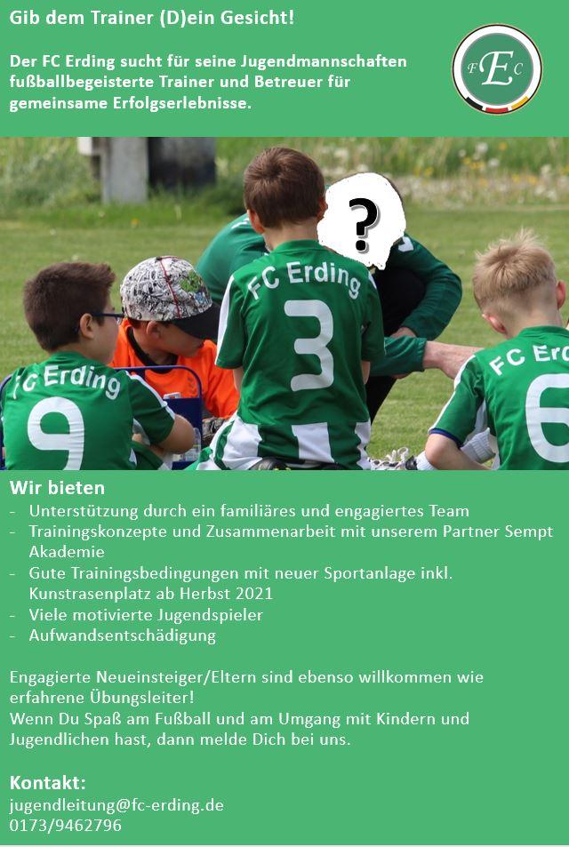 Jugendtrainer FC Erding