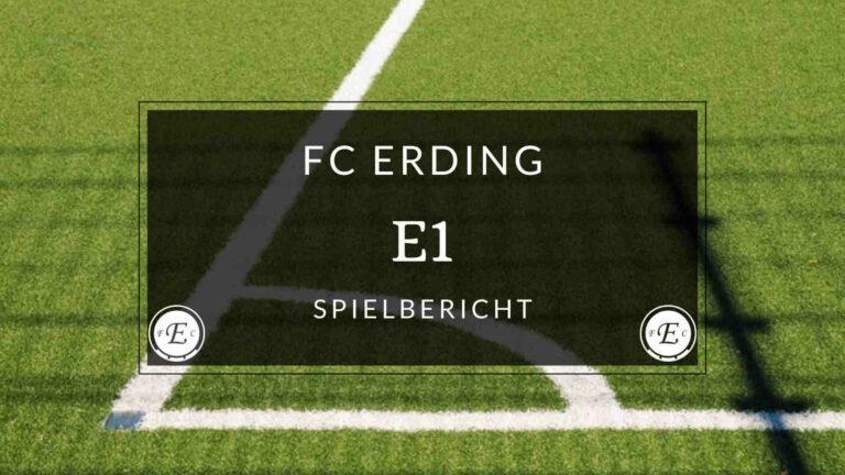 FC Erding E1-Jugend