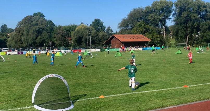 1.Funinoturnier TSV Isen 18.09.2021 F2-Jugend