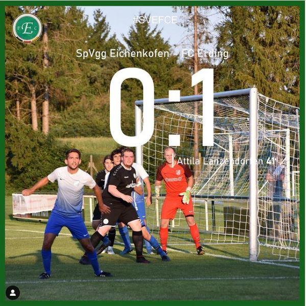 SpVgg Eichenkofen - FC Erding